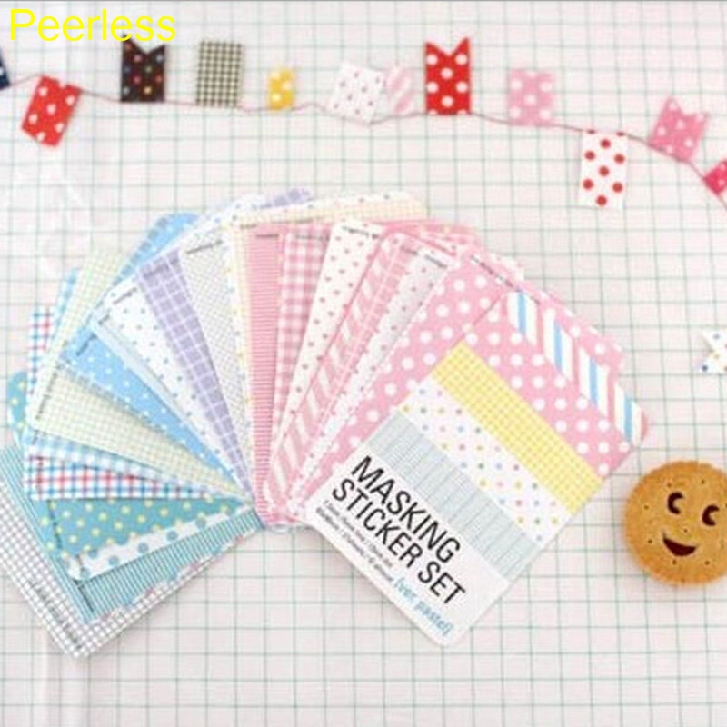 Office & School Supplies Systematic Peerless 27 Pcs/lot Candy Color Print Notebook Album Calendar Memo Message Diary Notes Decor Scrapbook Paper Sticker Stationery In Short Supply