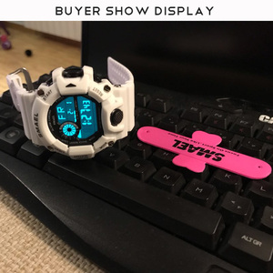 Image 5 - นาฬิกาผู้ชายดิจิตอลนาฬิกาสีขาวSMAELกีฬานาฬิกากันน้ำ50Mวันที่Relogio MasculinoดิจิตอลทหารนาฬิกาMens Sport
