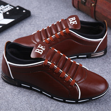 Men Casual Shoes Fashion Leather for Spring Summer Flat Dropshipping Flats Footwear Big Size 38-48