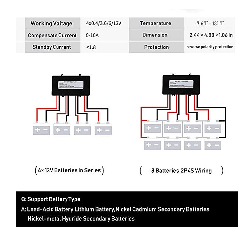 Battery Equalizer Used For 48v Lead Acid Batteries Solar System Diagram Balancer Charger In Connectors From Lights Lighting On Alibaba Group