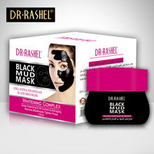 DR RASHEL  Black mud Mask Nose Blackhead Remover Facial Acne Treatment Collagen With Bamboo Charcoal 130 ML