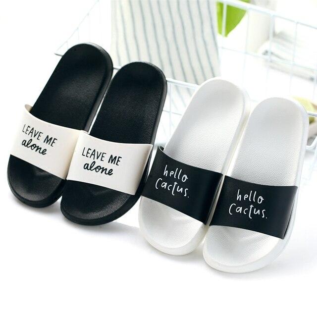 Женские летнии шлепанцы толстые тапочки на подошве Летние слипоны сандалии для девочек черный, белый цвет Женская Обувь Сланцы zapatillas mujer дропшиппинг