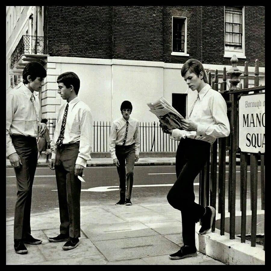 ZP286 David Bowie Davy Jones With The Lower Third Vintage Rare Art ...