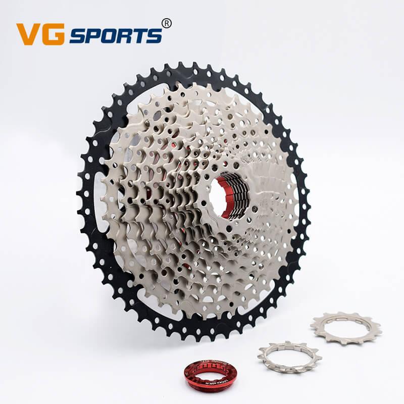 VG Sport 12 Vitesse 11-50 t Cassette VTT Vélo Roue Libre Pignon Velocidade Montagne Vélo De Route Volant En Acier Vélo accessoires