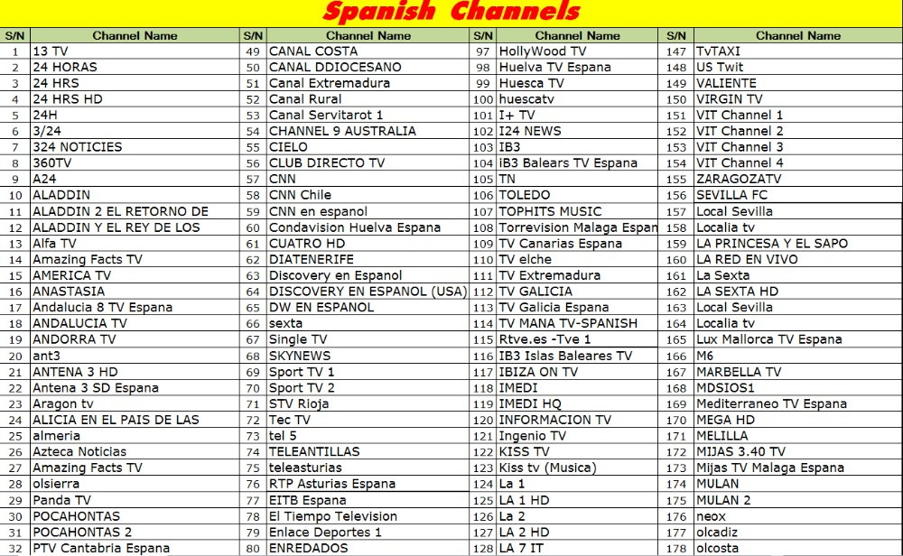 Free LIVE TV Channels 6