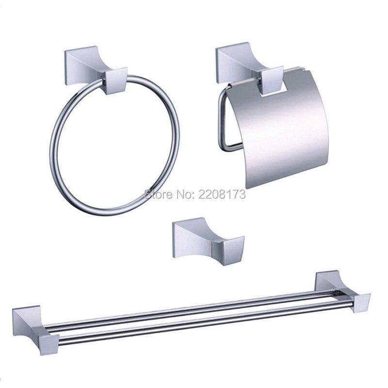 Smesiteli 2017 New Simple Style Brass Polished Chrome Hardware accessories bath paper ro ...