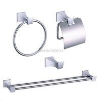 Smesiteli Bath Hardware Sets Brass Polished Chrome Hardware Accessories Bath Paper Robe Holder Hanger Towel Ring Rack Bar Kit