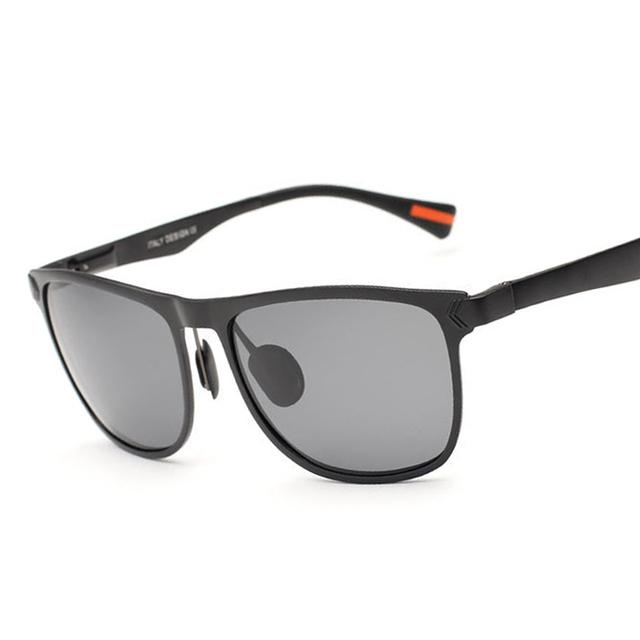 2016 Бренд Дизайнер Новый Поляризованный Квадратных Солнцезащитные Очки Мужчины Vintage Солнцезащитные Очки очки gafas óculos де золь masculino 8586