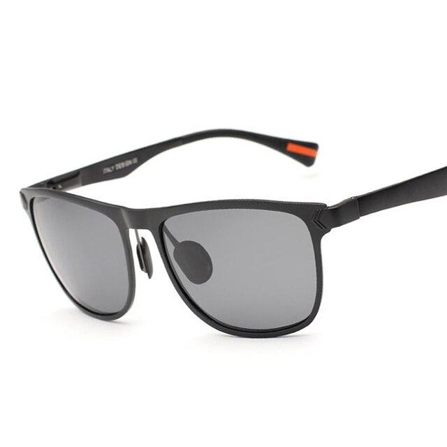 2016 Brand Designer New Polarized Square Sunglasses Men Vintage Sun Glasses Eyeglasses gafas oculos de sol masculino 8586