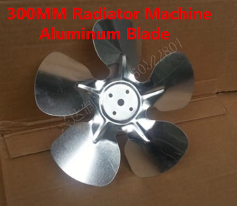 Fast Free Ship 5PCS 300MM fin-cooled machine/radiator machine aluminum blade The cooler motor wind leaf. Aluminum radiator motor 1pcs free shipping ssr soild state relay radiator radiator fin other spare parts mini