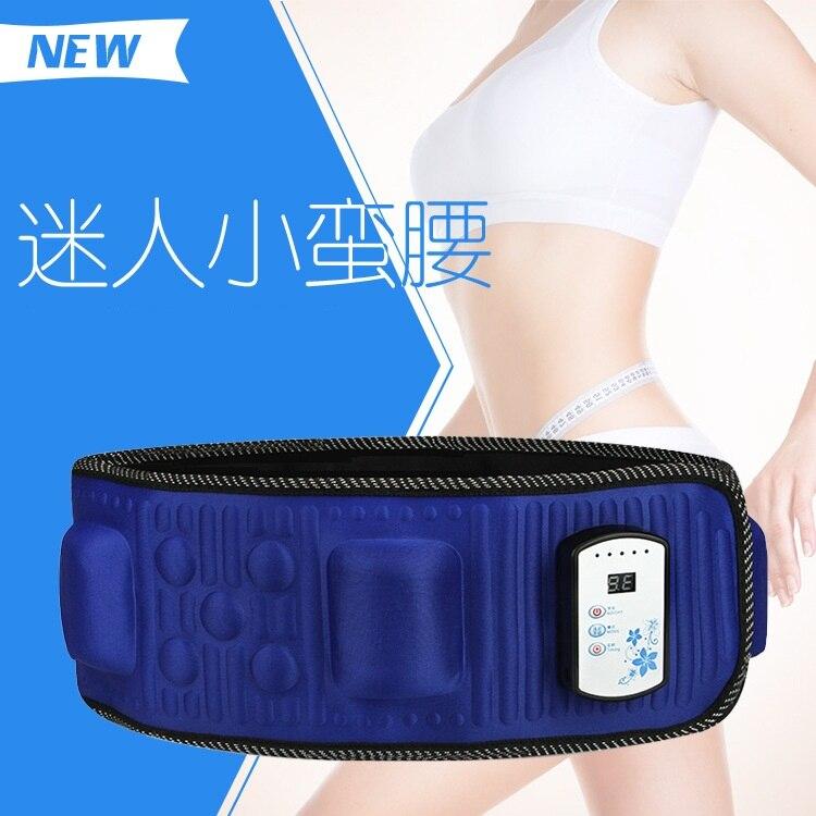 Best Quality 110 240V Electric Vibration Infrared Ray Sauna Waist Slimming Belt Fat Burning Heating Massage Vibrator Massager
