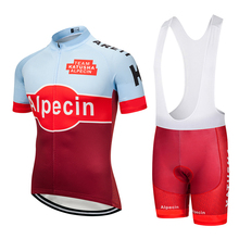 цены TEAM katusha Cycling Clothing 9D gel pad shorts bike jersey set Ropa Quick Dry Mens Bicycle summer TOPS pro Cycling Jersey