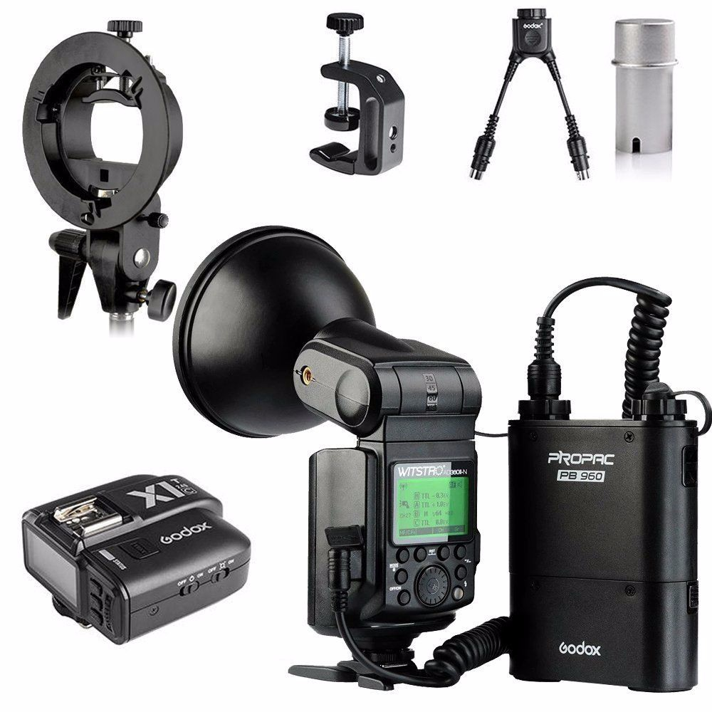 Godox Witstro AD360 AD360II-C E-TTL II For Canon DSLR Camera Portable Speedlite Flash Light Kit