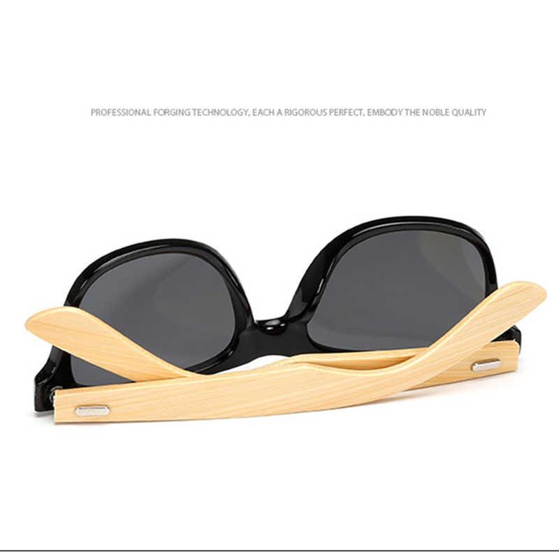47475e4d6ba1 ... GYsnail Vintage Bamboo Sunglasses Men Retro Women Bamboo Wood sunglass  Male mirror Brand Wooden Square Sun ...
