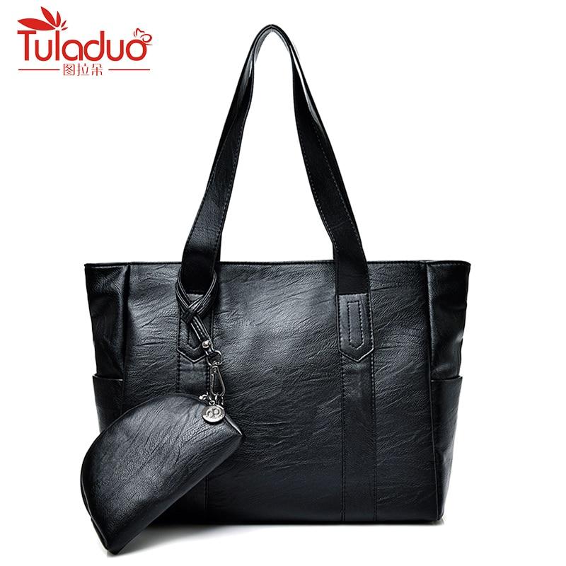 High Quality Genuine Leather Handbags Women Bags Designer Sheepskin Leather Women Shoulder Bag Large Capacity Top-Handle Bags
