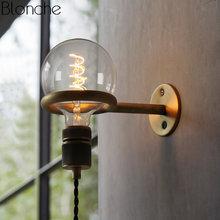 Настенный светильник в скандинавском стиле винное украшение