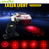 Anti Collision Rear End Car Laser Tail Led Car Fog Light Auto Brake Parking Lamp Car