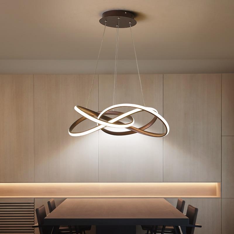 Postmodern minimalist chandelier atmosphere creative personality living room Dining Room Nordic art restaurant Chandelier-in Chandeliers from Lights & Lighting