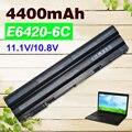 4400 mah bateria do portátil para dell latitude e5420 e5430 e5520 e5520m E5530 E6120 E6420 E6520 E6420 E6430 E6530 Vostro 3460 para 3560