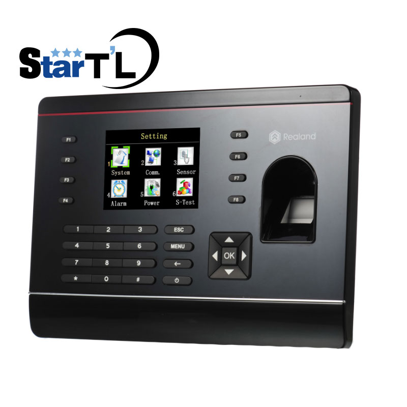 Free Shipping Rfid Card Recorder Clock attendance Fingerprint Time Attendance System for Employee Time Attendance Recording linux system webserver color screen u260 biometric fingerprint time clock time attendance terminal employee recording attendance