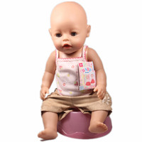 Baby Born Interactive Boy Doll 43CM Baby Born Zapf Doll With Clothes A Set Children Best Gift