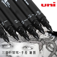 Art Supplies 6pcs Paint Brush For Painting Markers For Drawing Stationery Fine Point Posca Sharpie Manga