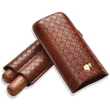 cohiba Cigar Moisturizing Set Travel Moisture Cover Portable Cigar case 2 Pack Protective Case CD-1016 cohiba