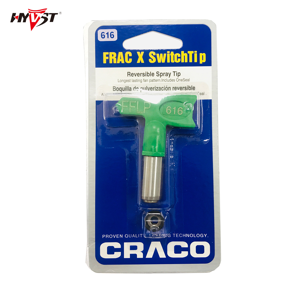 Airless tips G-FFLP616/ FRAC616 nozzle Fine Finish Low Pressure  Tip for Airless Paint Spray Guns