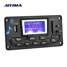 AIYIMA 12V LCD Bluetooth MP3 Decoder Board WAV WMA Decoding