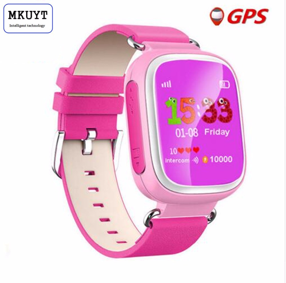 Q80 Kids GPS Smart Watch Wristwatch SOS Call Location Device Tracker for Kid Safe Anti Lost