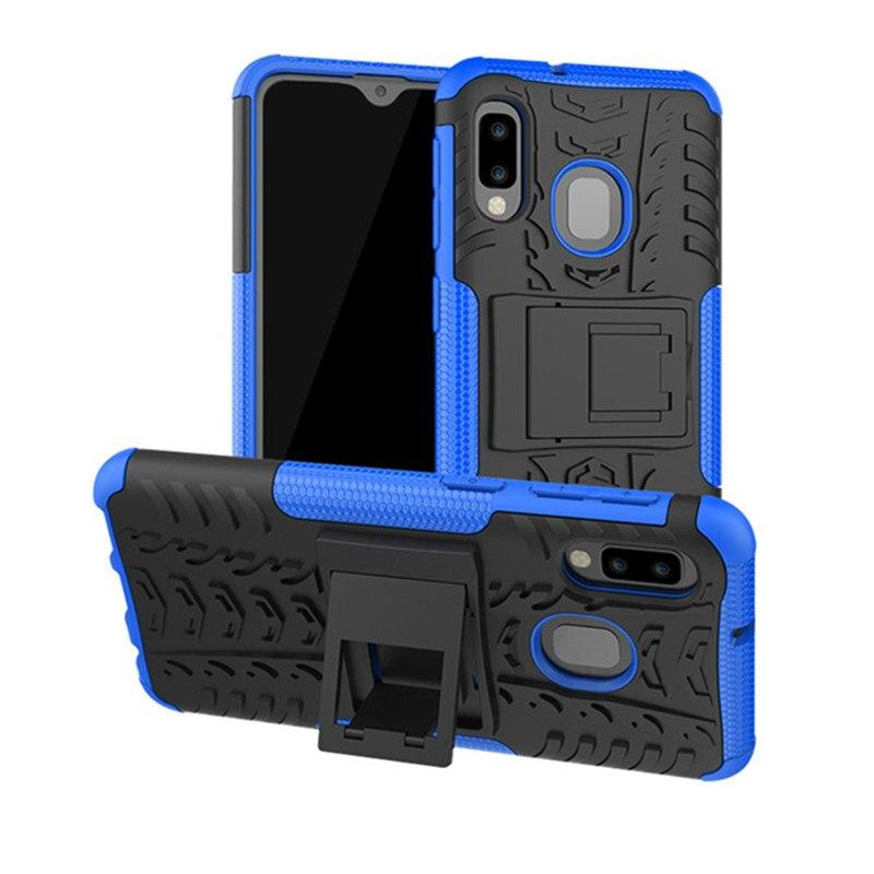 For Samsung Galaxy A20E 2019 Case Hybrid Armor Silicone Bumper Cover For A10E A 20E A202 A202F SM-A202F A20 A30 A50 A70 Coque