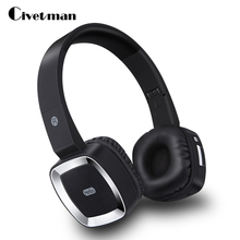 Original Civetman T6 bluetooth stereo headphones wireless headset head-mounted headphone with microphone for phone PC