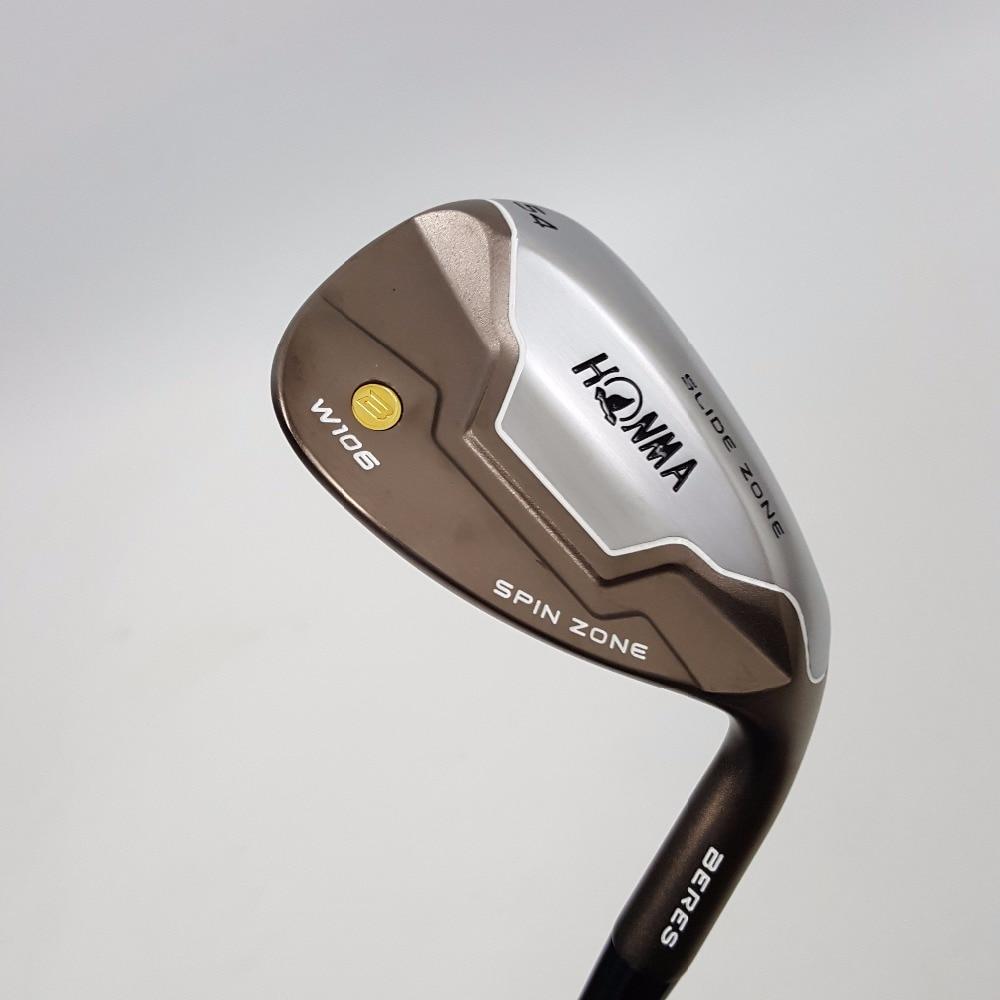 ХОНМА W105C кованые гольф Клин клуб с валом NSPRO 950 сталь have50, 52,54,56,58,60 град лофт выбрать