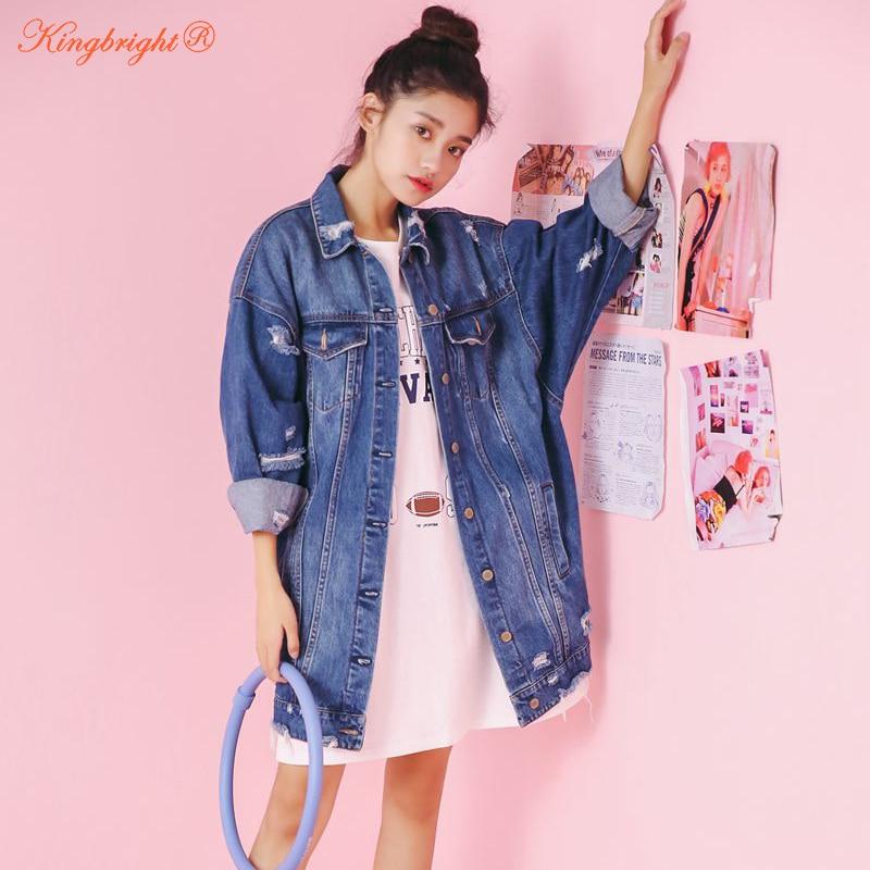 Fashion Brand Design Autumn Jeans Jackets 2018 Vintage ...