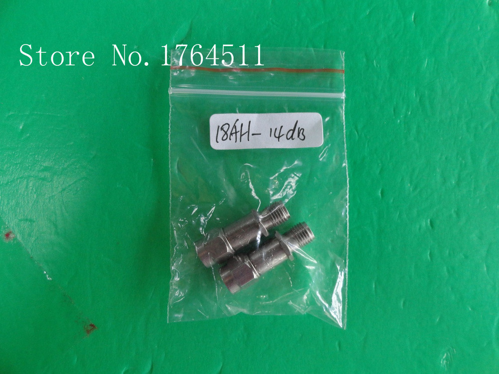 [BELLA] INMET 18AH-4dB DC-18GHz 4dB 2W SMA Coaxial Fixed Attenuator  --2PCS/LOT