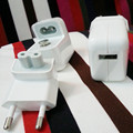 White 12W 2.4A EU Wall Plug USB Power Adapter Wall Charger  For iPhone 5 5s 4 4s  for iPad For Samsung Galaxy S6 S7 For LG G4