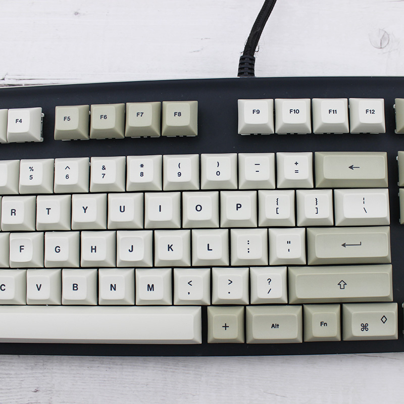 Image 3 - IDOBAO 129 Key Light Gray DSA Keycaps For Mechanical Keyboard PBT  Russian Gk61 Art Electronics Motospeed Ck104 Clavier GamerKeyboards