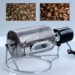 220V Household Small Coffee roaster electric stainless steel Multifunction Dried fruit roasted seeds and nuts machine