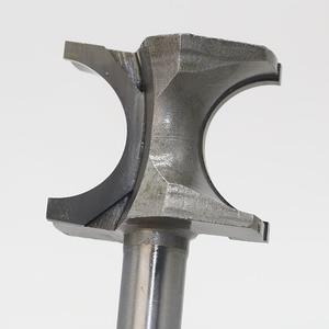 Image 3 - 1 sztuk półokrągłe szczypce Bit frez 12.7mm/6.35mm SHK bity do obróbki drewna