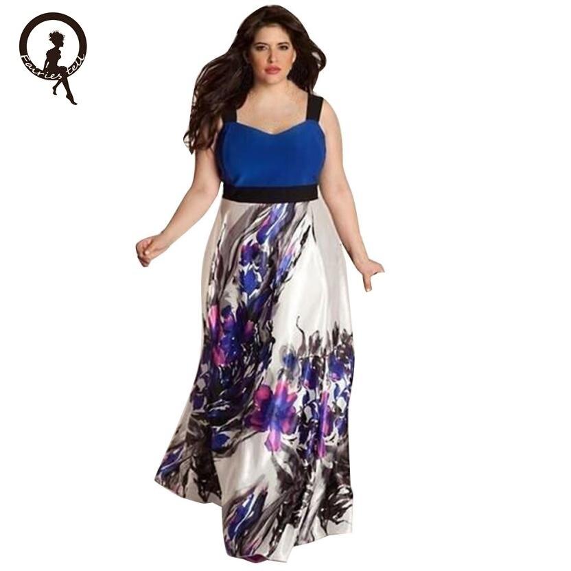 5XL 6XL Sexy Maxi Kleid big size 2017 Frauen Herbst plus größe Party ...
