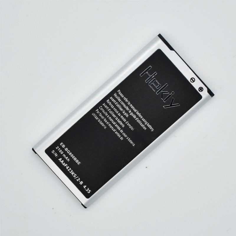 Hekiy Original EB-BG800BBC EB-BG800BBE Batterie Für Samsung galaxy S5 mini G800 G800H G800F S5mini Mobile Handy akkumulator