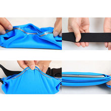 New Arrival Waterproof Sport Gym Waist Bag Case Running Wallet Mobile Phone Pouch For iPhone 6/6S/7 4.7inch(China)