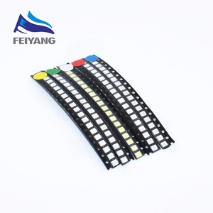 100pcs Super Bright 3528 1210 SMD LED Red/Green/Blue/Yellow/White/WARM WHITE/UV/ICE BLUE LED Diode 3.5*2.8*1.9mm(China)