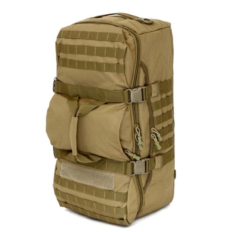 Hommes sacs militaire tactique multi-fonction sac à dos en plein air camping armée ventilateur grande capacité mâle loisirs alpinisme sac