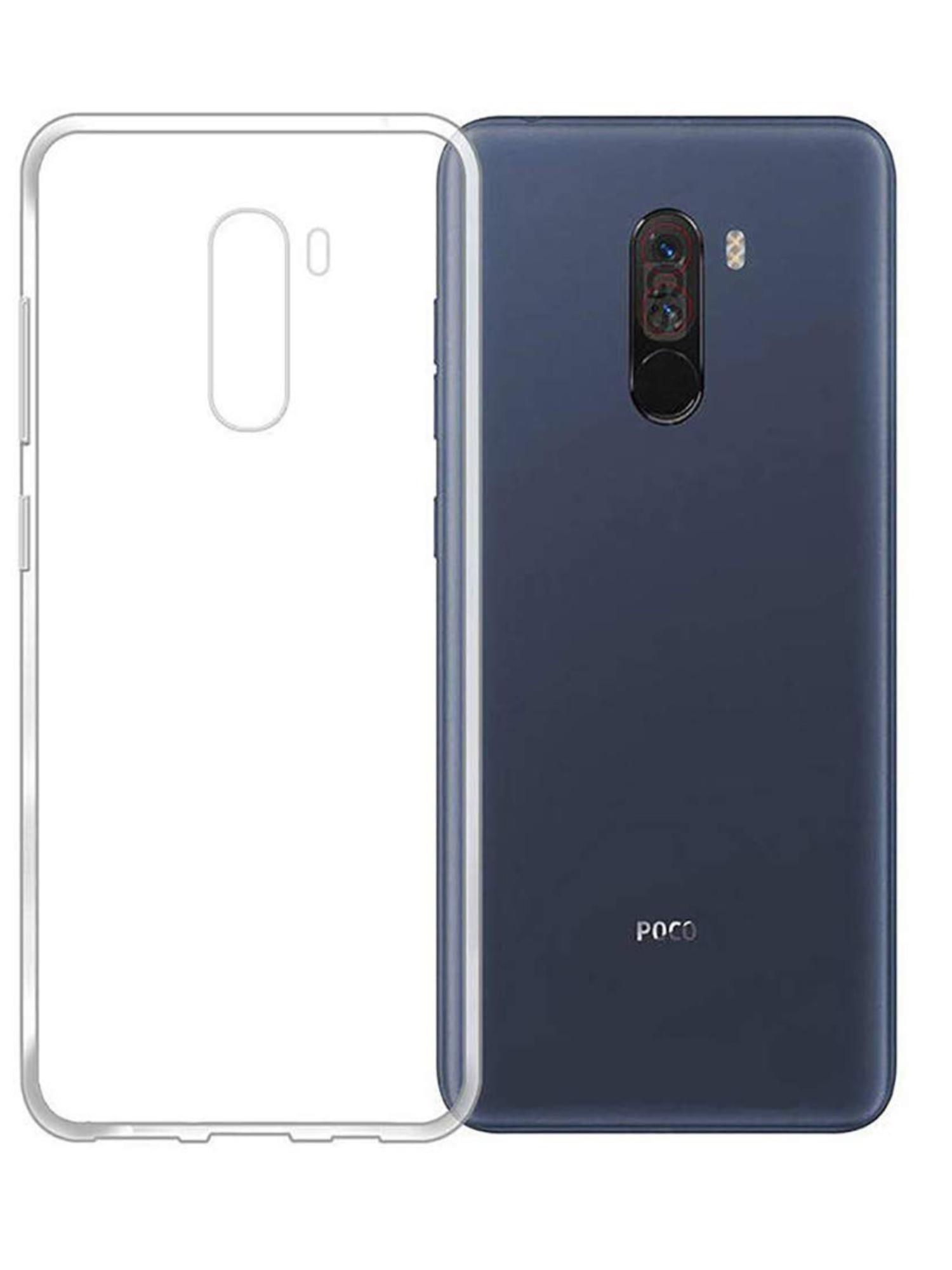 Funda de gel TPU carcasa silicona para movil Xiaomi Pocophone F1 Transparente