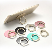 New Fashion Round Type Mobile Phone Ring Stand Holder For iPhone 5s 6 Xiaomi all Smart