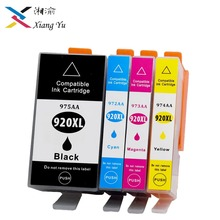 2019 4Pack 920XL Compatible Ink Cartridge Replacement For HP 920 XL For Officejet 6000 6500 6500 6500A 7000 7500 7500A printers все цены
