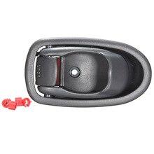 Left Interior Inside Gray Door Handle For Hyundai Elantra 96 97 98 99 00 01