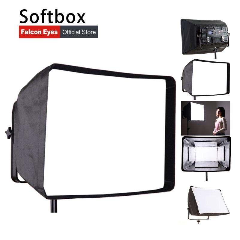 Falcon Eyes Foldable Softbox For LP-600TD/LP-1505TD/LP-820TD/2005PRO/LP-2005TD/LP-2805TD LED Photography Panel Light