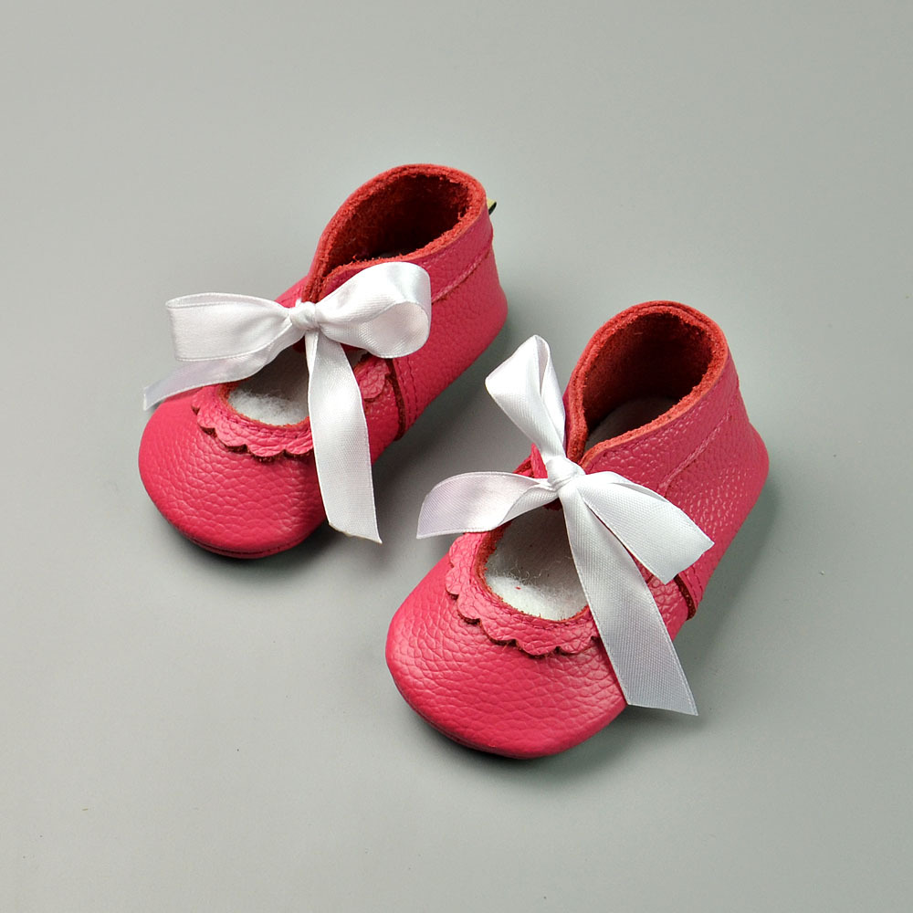 Genuine Leather Baby Moccasins Lace-up Baby Shoes Bebe newborn Boys Girls shoes Soft Bottom First Walkers